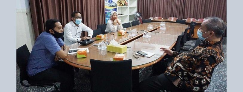 Kunjungan Direktur PDAM Tirtasari Binjai Ke Universitas Medan Area